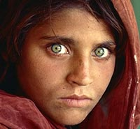 Sharbat Gula, foto Steve McCurry